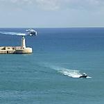 Course poursuite en mer