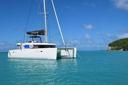 En catamaran à Sainte-Lucie
