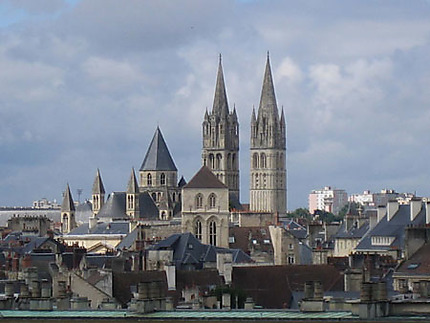 Vue du château ducal