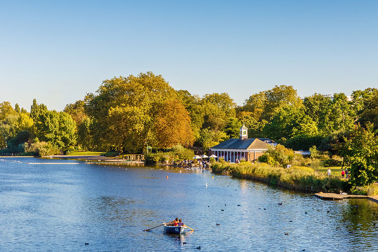 Serpentine, Hyde Park - Londres, Angleterre