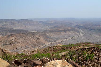 En terre aride à Djibouti