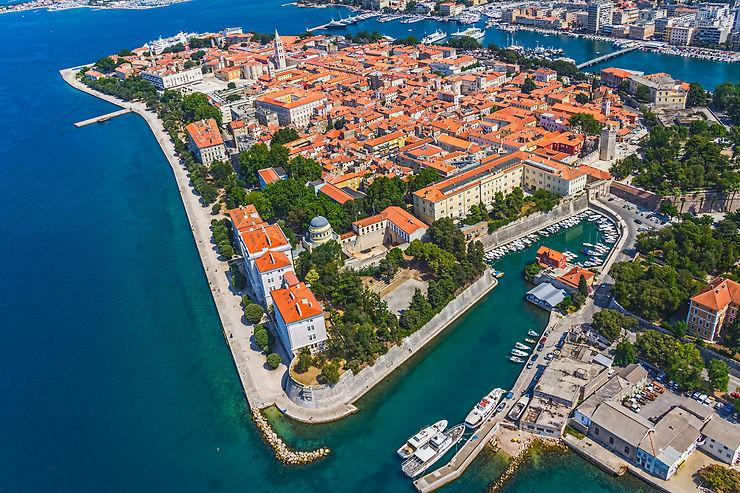 Zadar et Šibenik