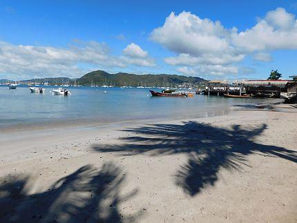 Ombre à Sainte-Anne en Martinique