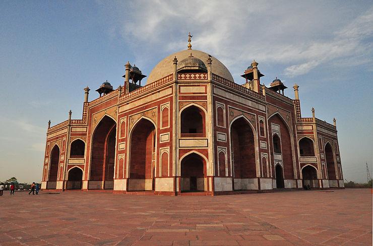2e jour : les trésors moghols et les jardins de New Delhi