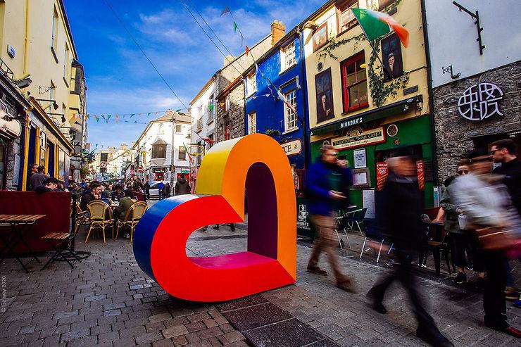 Irlande : Galway, capitale européenne de la culture en 2020