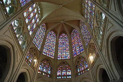 Intérieur de la cathédrale Saint-Gatien