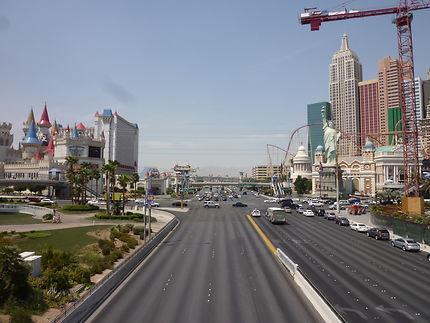 Arrivée à Las Vegas