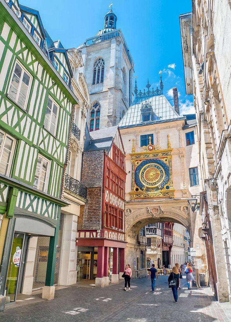 Voyage dans le temps autour de la cathédrale de la Rouen