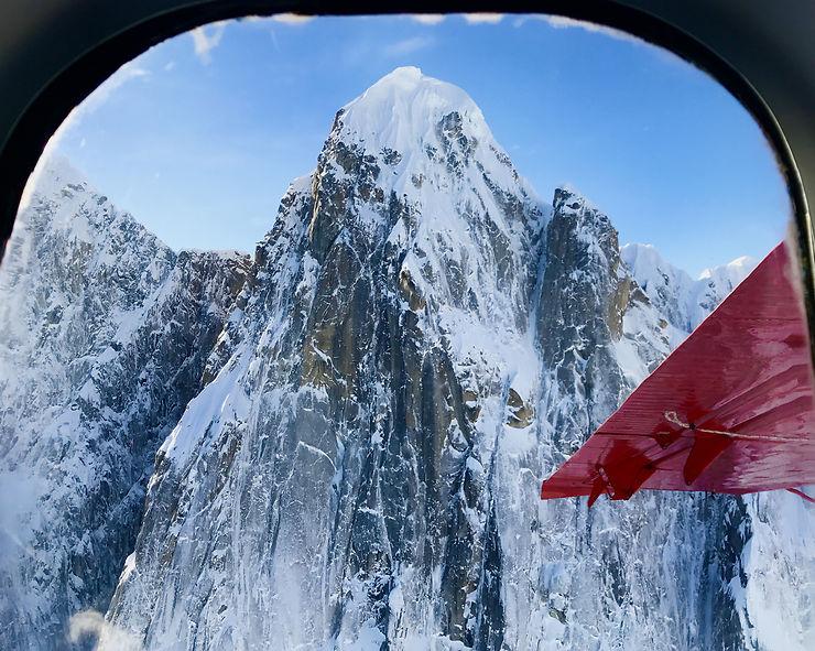 Fenêtre sur le Denali, Alaska
