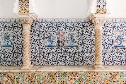 Alger - Palais Mustapha Pacha - Faïence peinte