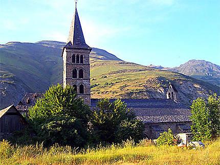 Eglise romane dans le val d'Aran