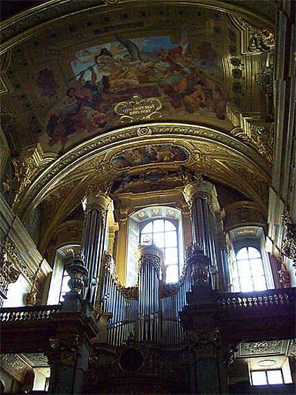 Jesuitenkirche : les grandes orgues
