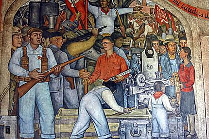 Murales (peinture murales) Diego Ribeira