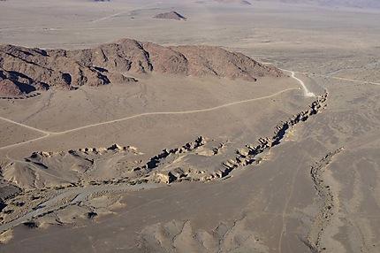 Survol sur des Canyons de Sesriem
