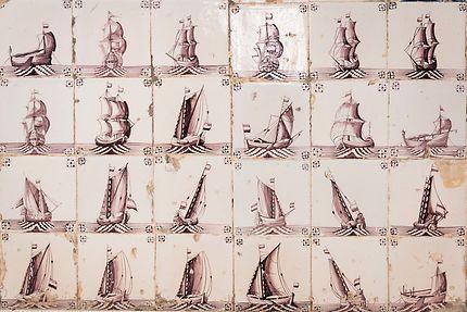 Alger - Palais Mustapha Pacha - Les bateaux