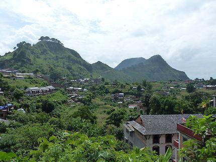 Le magnifique petit village de Bandipur, Népal