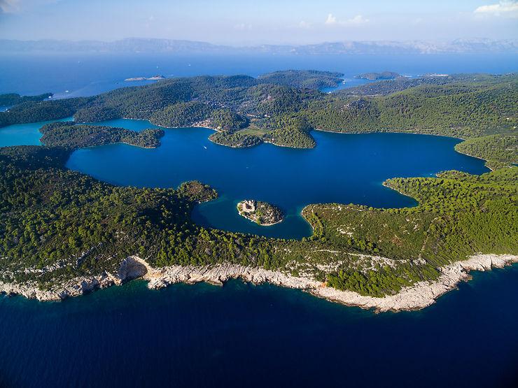 Îles de Brač, Hvar, Mljet