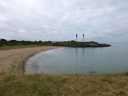 Double phare sur l'Île d'Aix