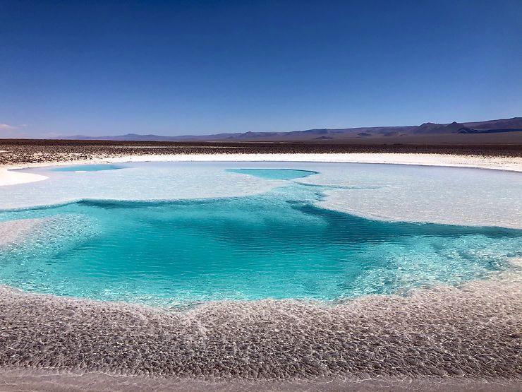 Agua azul, Désert d'Atacama, Chili