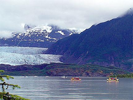 Le glacier Mendehall (Alaska)