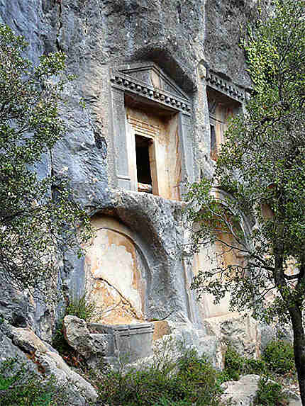Nécropole de Termessos