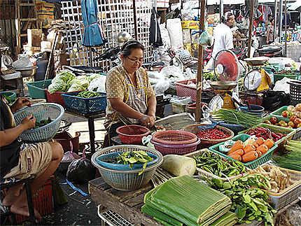 Le marché de Lopburi