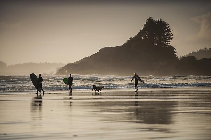 Tofino, le paradis des surfeurs