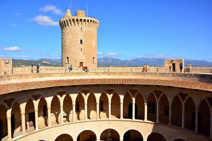 Castell de Bellver et Fondation Joan Miró