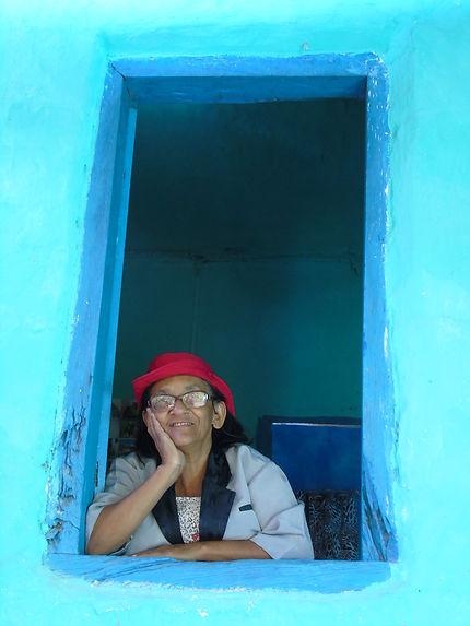 Dona Raquel, habitante de la Vale Do Pati