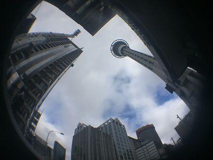 Sky Tower en Nouvelle-Zélande