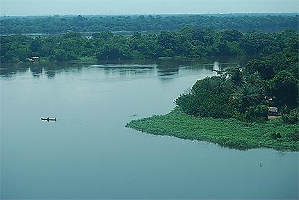 Le fleuve Congo entre Lisala et Bumba