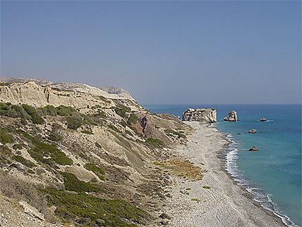 La côte de Petra Tou Romiou