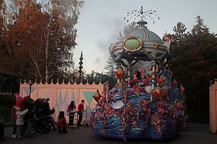 Le char de Mickey