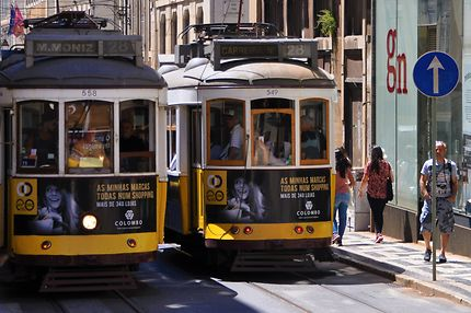 Tram 28 à Lisbonne !