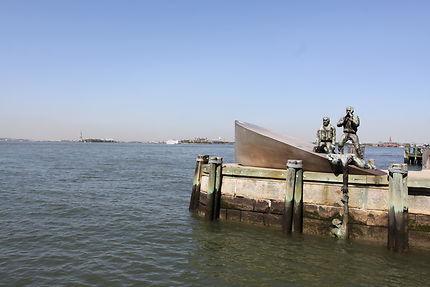 New York - Battery Park - Mémorial aux marins