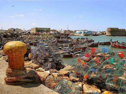 El Jadida, port de pêche