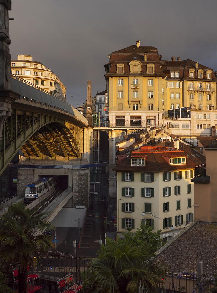 La Cité de Lausanne, Suisse