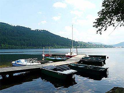 Lac de Gérardmer, Bout du lac