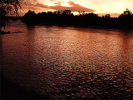 La Loire cuivrée