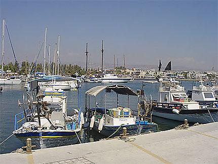 Bateaux à Paphos