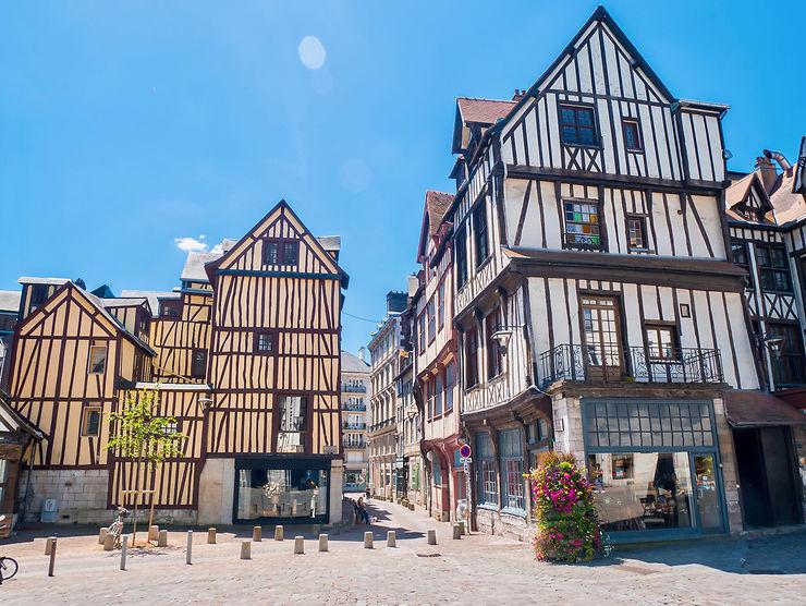 Rouen, une ville capitale