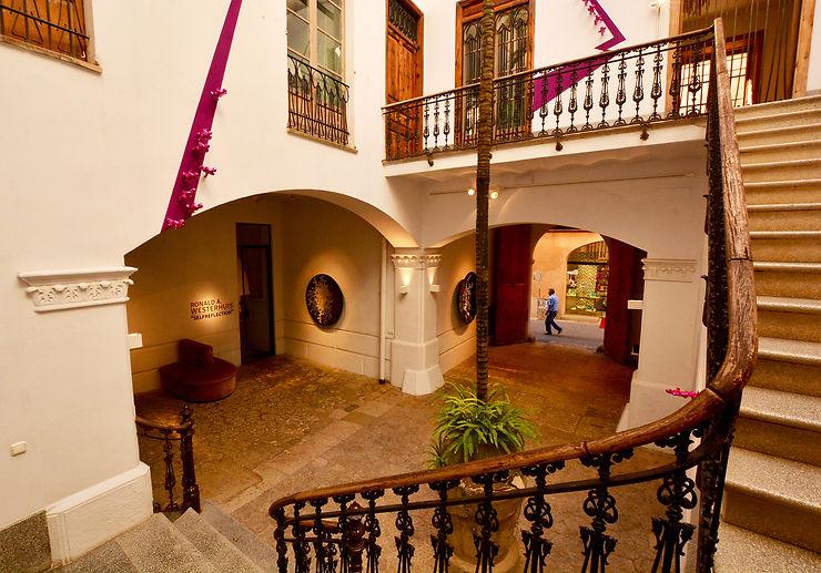 Au fil des patios, dans la vieille ville de Palma