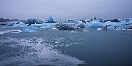 Lagune glaciaire