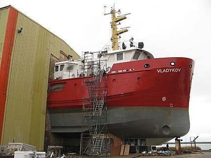 Navire à Matane