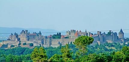 Remarquable cité médiévale de Carcassonne