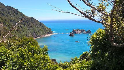 La mer de Tasman toute en beauté
