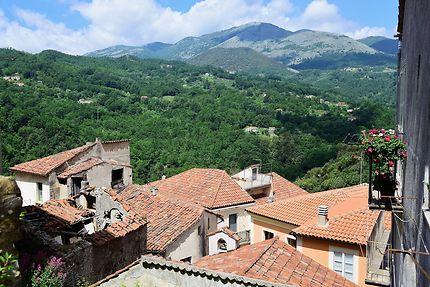 Les toits de Rivello