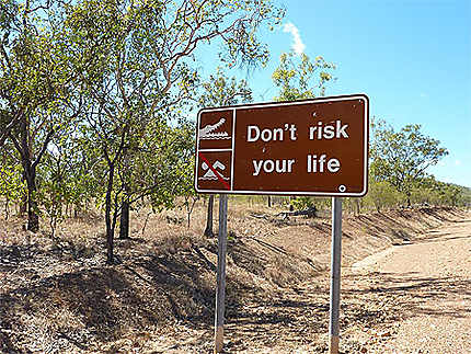 Don't risk your life