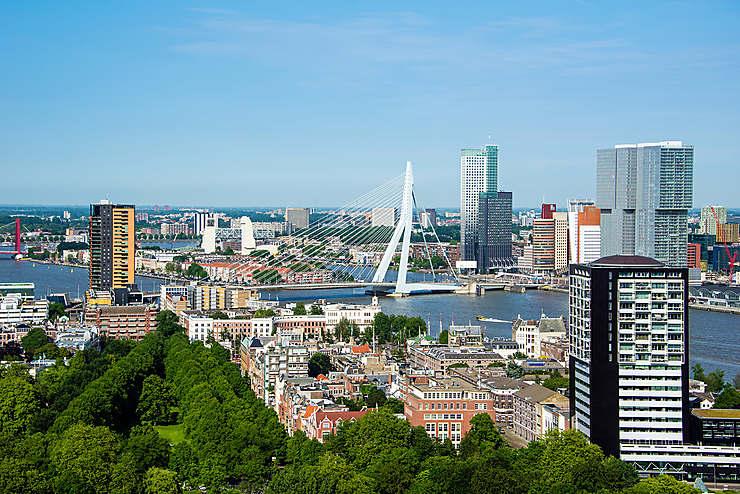 Rotterdam et Delft (Pays-Bas)
