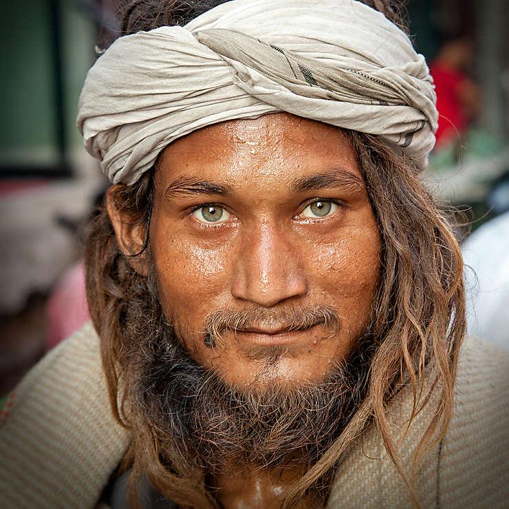 Pèlerin à Haridwar